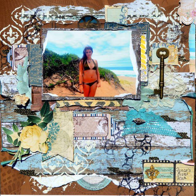 Prince's Grant Beach by Agnieszka Bellaidea http://bellaideascrapology.blogspot.ca/2015/06/princes-grant-beach.html