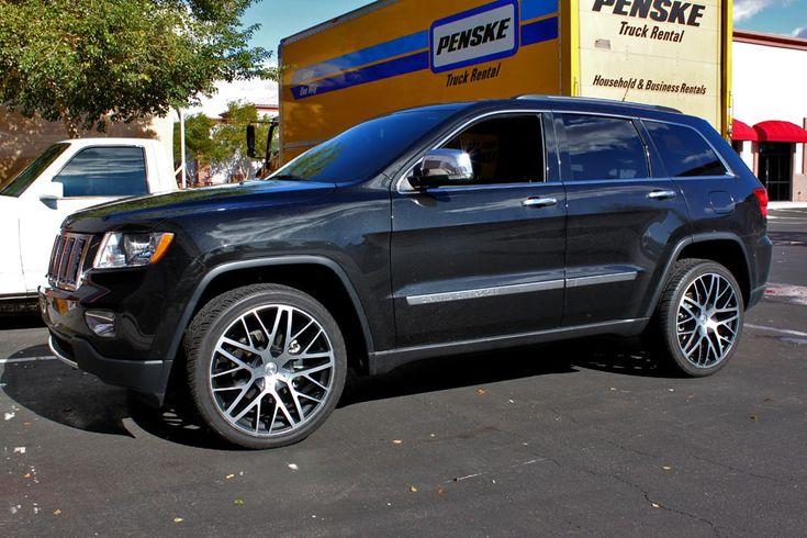 2005 jeep grand cherokee with black rims demoda vanquish. Black Bedroom Furniture Sets. Home Design Ideas
