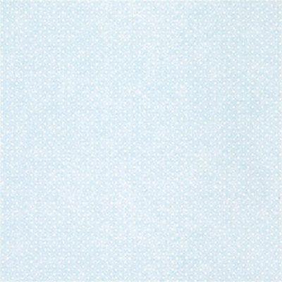 Фото №1: обои однотонные в мелкий горошек T177 Blue – Ампир Декор
