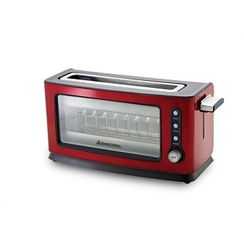 Toasters - Kitchen Appliances - Russell Hobbs Red Perfect Toaster