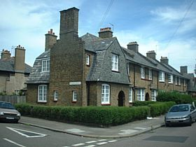 London Borough of Haringey - This is a picture of a house in the Tower Gardens Conservation & Article 4 area of Haringey N17.  This area is full of small cottage garden terrace houses which are really quanit.  This area is part of the London Open House © R Crowley