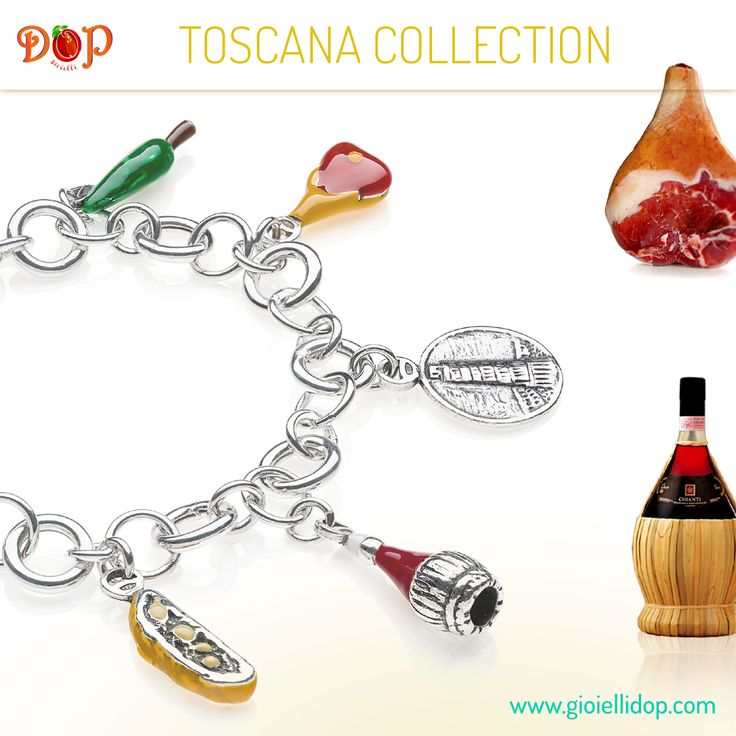 Discover #gioiellidop Toscana Collection. Sterling Silver and Enamels Costume Jewelry, entirely handmade in Italy. Create your favorite recipe