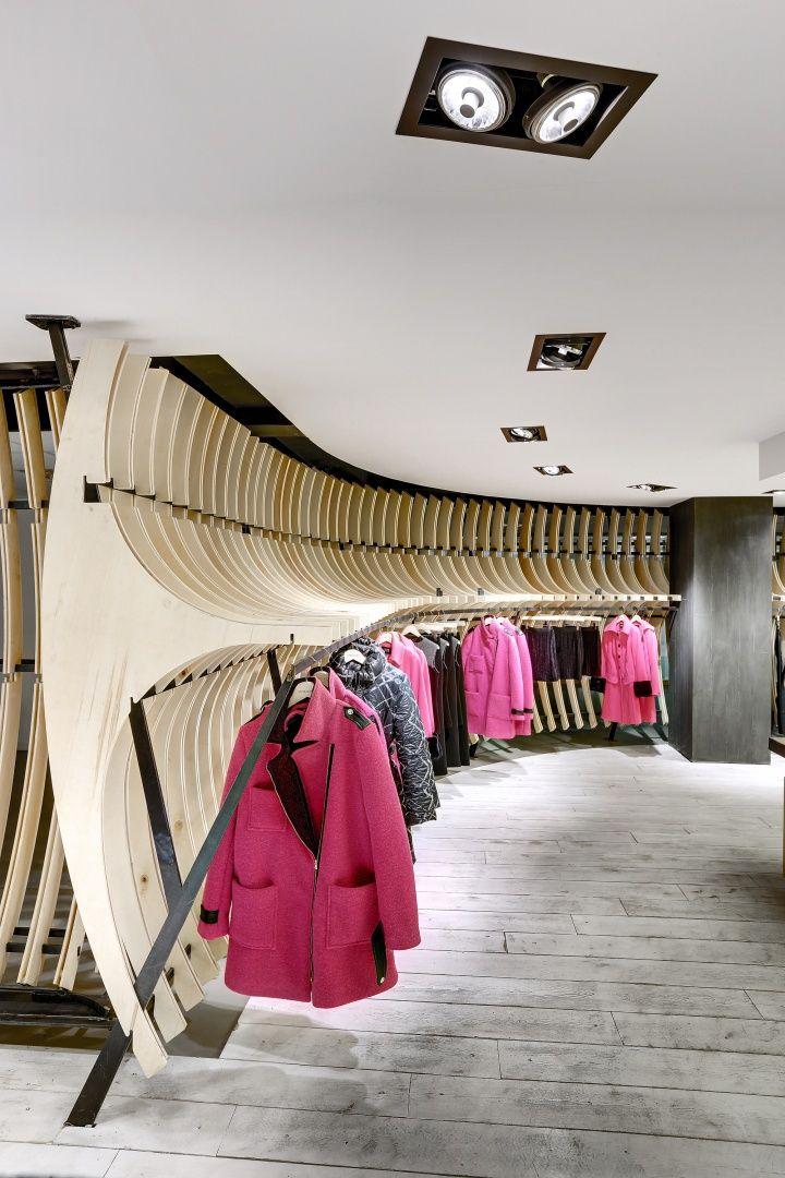 VIGOSS Textile showroom and design office by Zemberek Design Office Istanbul Turkey