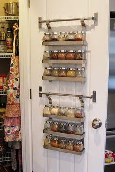 Kitchen Organization Pantry Spice Racks