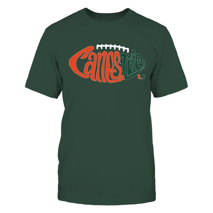 Miami Hurricanes - Canes Life T-Shirt, Special Offer, not available in shops! Comes in a variety of styles and colors Buy yours now before it is too late! Secured payment via Visa / Mastercard / Amex  The Miami Hurricanes Collection, OFFICIAL MERCHANDISE  Available Products:          District Men's Premium T-Shirt - $27.95 Gildan Unisex T-Shirt - $25.95 District Women's Premium T-Shirt - $29.95 Next Level Women's Premium Racerback Tank - $29.95 Gildan Women's T-Shirt - $27.95 Gildan Unisex…