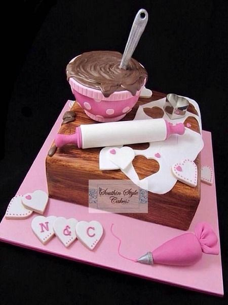 From the moment I first saw a cartoony cake, I knew I would forever love cartoony cakes.   (By And...