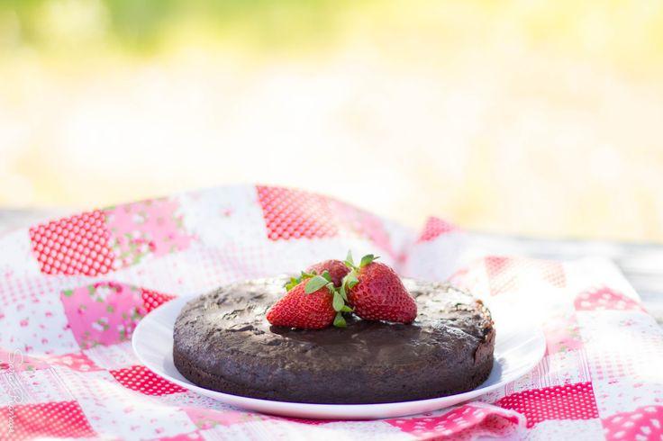 Bolo de Chocolate Saudável...é mesmo verdade! (em vídeo)