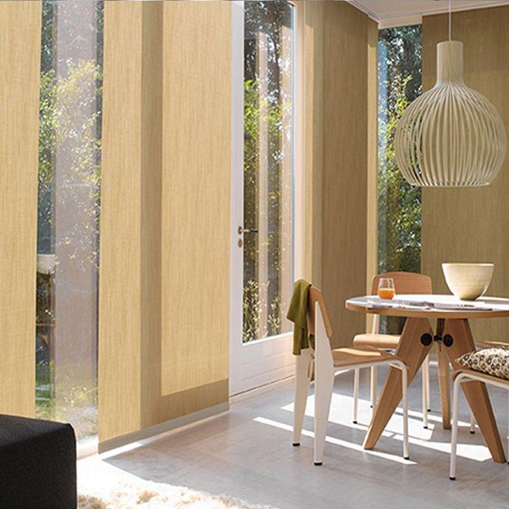Panel Oriental: Estos paneles brindan elegancia y funcionalidad a los espacios. Se pueden realizar en variedad de telas y colores. #Panel #Oriental #Japonés