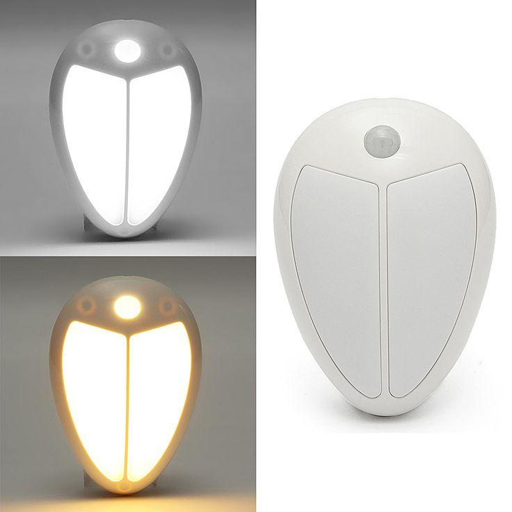 Beatles Wireless Infrared Motion LED Sensor Night Light Wall Lamp Kids Bedroom