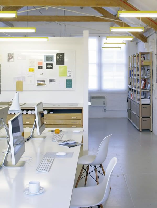 Apfel graphic design studio interior go to for Office design news