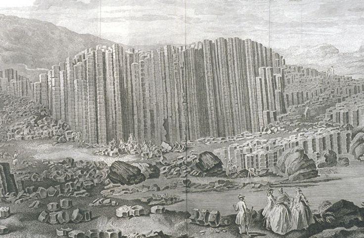 Drury - View of the Giant's Causeway - Chaussée des Géants — Wikipédia