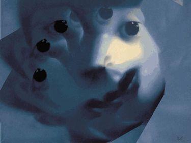 "Saatchi Online Artist Riccardo Schiavon; Digital, ""New frontiers 05"" #art"