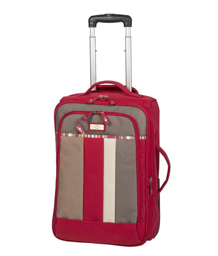 Spencer and Rutherford - Travel - Lightweight Trolley Case - XLight Trolley Medium - Summer Bloom