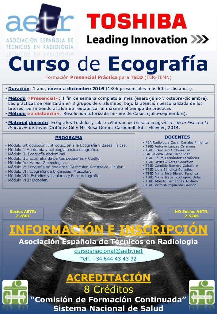 CURSO DE ECOGRAFÍA 2016 | Radiología & Salud