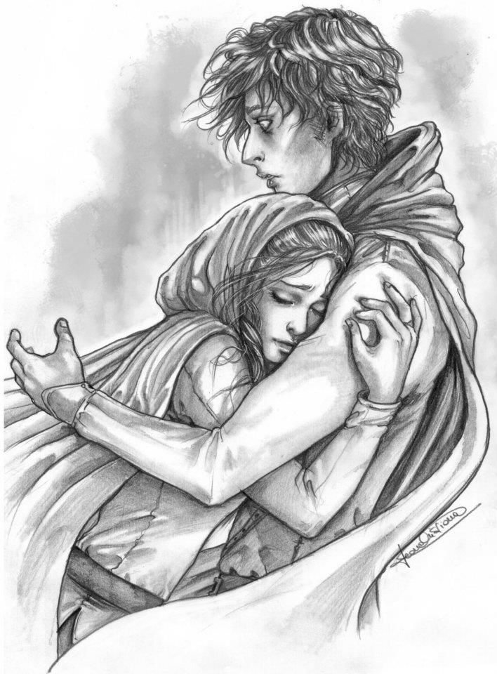 She Lunged At Him And Gave Him A Hug He Was Stunned And