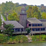 Lighthouse Inn Restaurant Fort Smith AR Situated For Dining On The North Side By Arkansas River