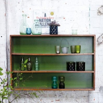 Simple Hylde, grøn