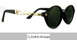 Flyboy Round Vintage Sunglasses - 188 Tortoise