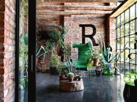 Verde loft / via Lejardindeclaire