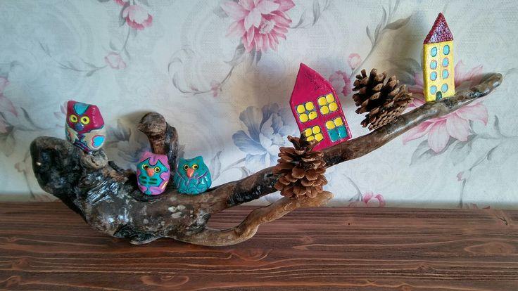 Seramik baykuş