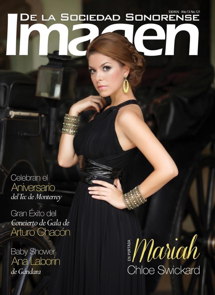Portada de Revista Imagen Septiembre 2012/  Mariah Chloe Swickard