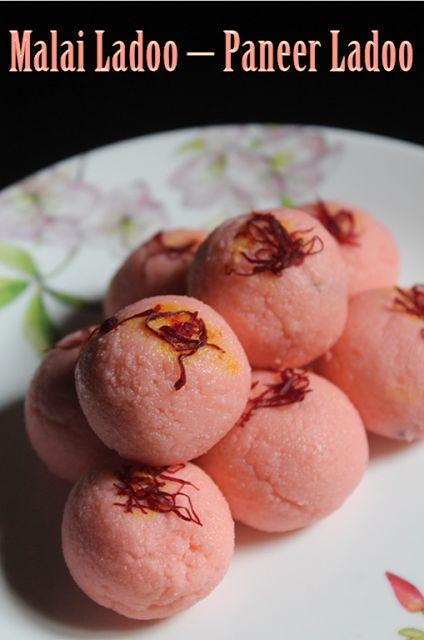 YUMMY TUMMY: Malai Ladoo Recipe / Paneer Ladoo Recipe - Easy Diwali Sweets Recipes