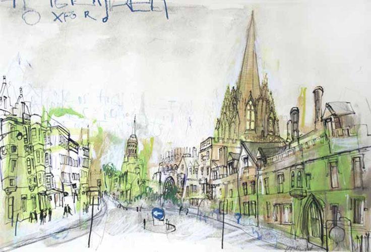 Junction Art Gallery - Kelly Stewart 'The High Street'