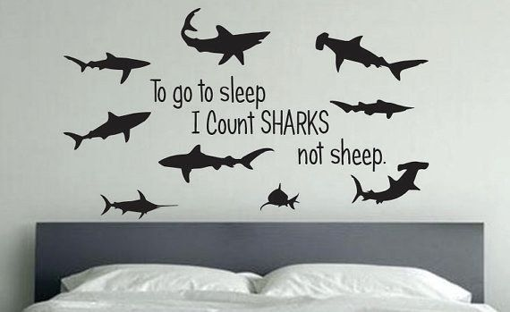 …Sleep under the safety of a watchful shiver. | 21 Terrifyingly Perfect Gifts For Shark-Loving Kids