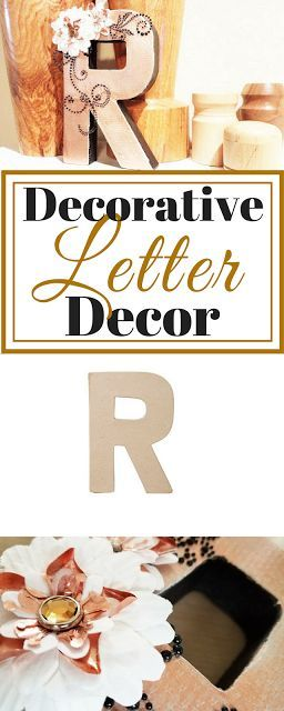 Decorative Letter for Home Decor