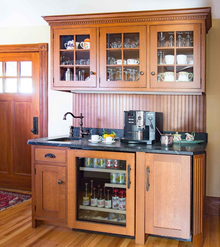 9 Best Beverage Centers Designed By Heartwood Kitchens