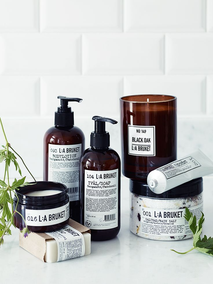 Beautifully handmade using natural ingredients and raw materials, Swedish brand L:A Bruket use the finest organic ingredients to create spa-like soaps, creams and candles, all in simple and stylish packaging. For more information about each product in the collection, take a look at our Size  Info tab.