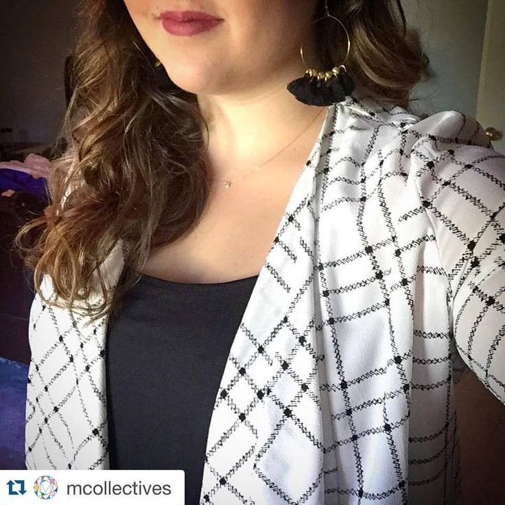 I mean! ‪#‎Repost‬ @mcollectives ・・・ Don't ‪#‎mcollectives‬ and @dressmingle make a great team!? Black Hoop tassel earrings $30 on my etsy page! This super cute dressy cardigan is from Mingle! Stop to shop on your way to the LSU game for some super cute clothes and accessories! ‪#‎wearmcollectives‬ ‪#‎handmadejewelry‬ ‪#‎shoplocal‬ ‪#‎dressmingle‬  Don't forget to repost the giveaway to win a free set of bracelets!!!! Drawing is at noon today!