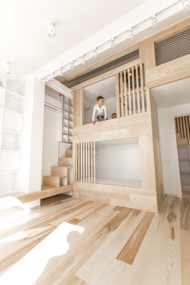 mommo design: BUNK BEDS reprendre l'idée de la protection claustra pour lit en hauteur