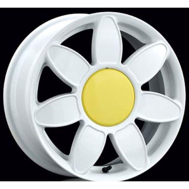 VW Beetle Daisy Rims | VW paint ideas | Pinterest | Hose Holder, Daisies and Vw Beetles