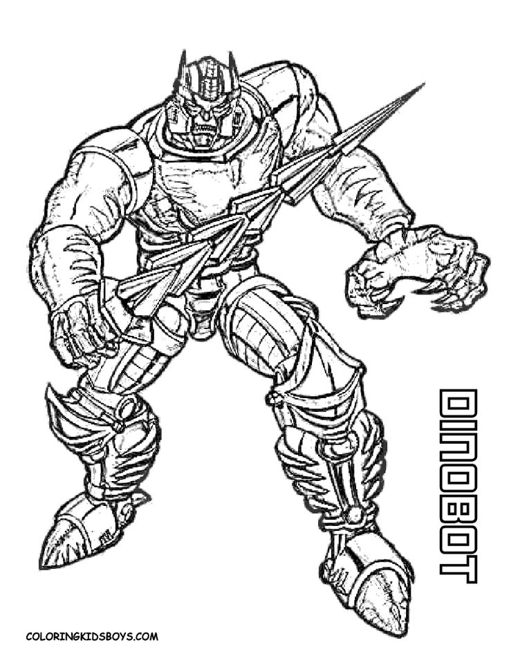 transformers coloring pages dinobot transformers coloring pages