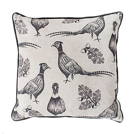 Kilburn & Scott Pheasant & Acorn Cushion #Kaleidoscope #home #interior