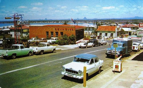 sunshine coast, Caloundra, 1961