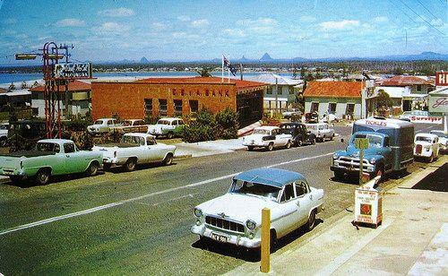 sunshine coast, Caloundra, 1961