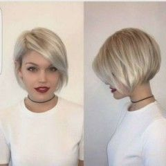 New Hairstyles Short Tiered With Pony