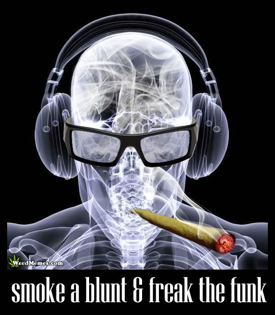 Smoke a blunt & freak the funk. #weedmemes #weedandmusic #highaf #highsociety #cannabiscommunity #legalizecannabis #marijuanamemes #marijuana #dank #kush