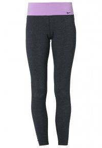 Nike Performance - LEGEND 2.0 TRAINING - Tights - black heather/violet shock/black