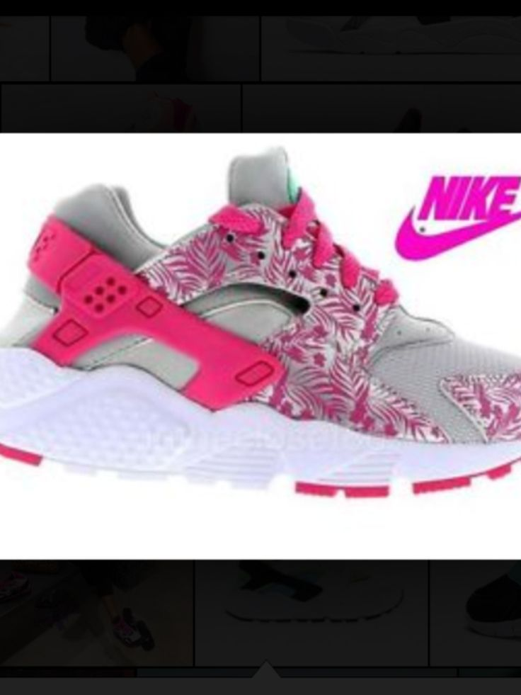Pink, white and grey haraches