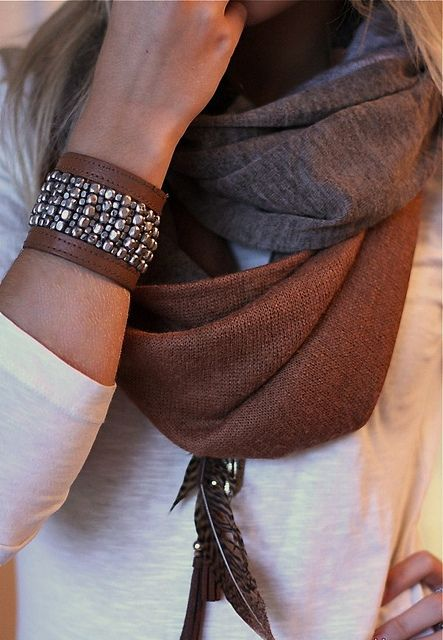Luggage Brown and Grey! Luff this cuff.