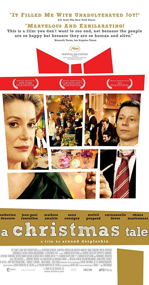 Directed by Arnaud Desplechin. With Catherine Deneuve, Jean-Paul Roussillon, Mathieu Amalric, Anne Consigny. The troubled Vuillard family is no stranger to illness, grief, and banishment, but when their matriarch requires a bone-marrow transplant, the estranged clan reunites just in time for Christmas.