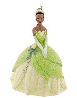 Disney Princess Glitter Tiana Ornament