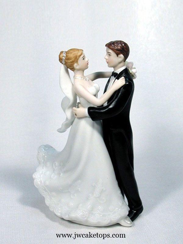 Tender Serenade Bride And Groom Wedding Cake Topper