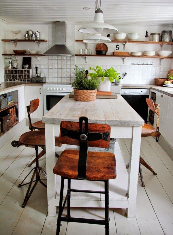 TEMA: KÖK - Vintage house