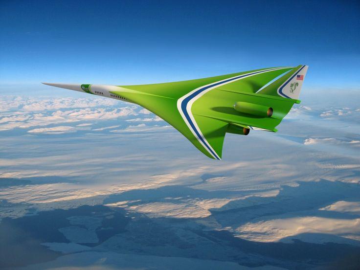 El Supersonic Green Machine   nosólotendencias.es #Marketing ¿Os imagináis viajar Madrid-Nueva York en hora y media? #LockheedMarin