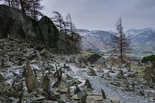 Summit Quarry, Castle Crag, Borrowdale