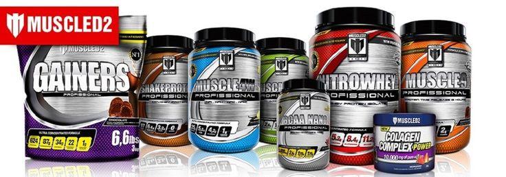 Encontre a linha completa da Muscled2 - Produtos com laudos laboratoriais